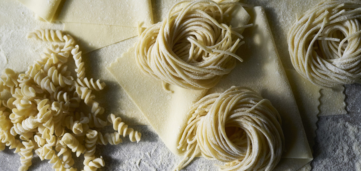 strands of pasta