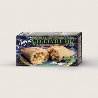Vegetable Pie in a Sandwich