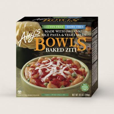 Baked Ziti Bowl, Gluten Free, Dairy Free