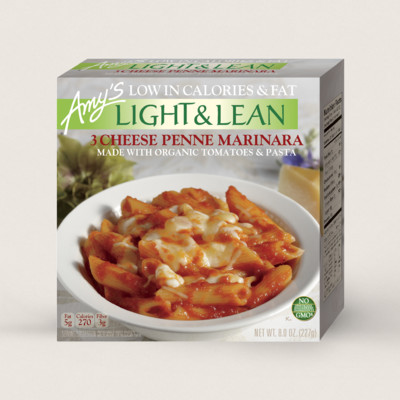 3 Cheese Penne Marinara - Light & Lean