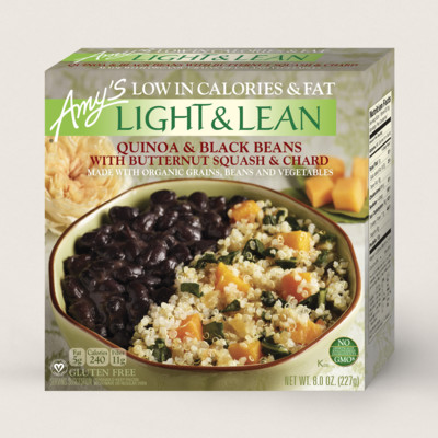 Quinoa & Black Beans with Butternut Squash & Chard - Light & Lean