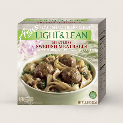 Meatless Swedish Meatballs - Light & Lean