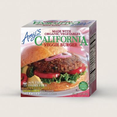 California Veggie Burger - 2 Patties