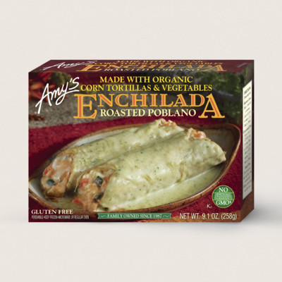 Roasted Poblano Enchilada