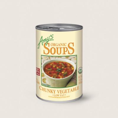 Organic Chunky Vegetable Soup