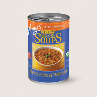 Organic Hearty French Country Vegetable Soup, Reduced Sodium