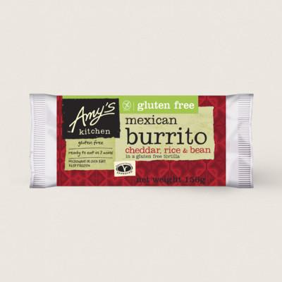 Amy's Kitchen - Amy's Kitchen Gluten Free Cheddar Burrito