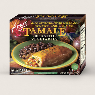 Roasted Vegetable Tamale