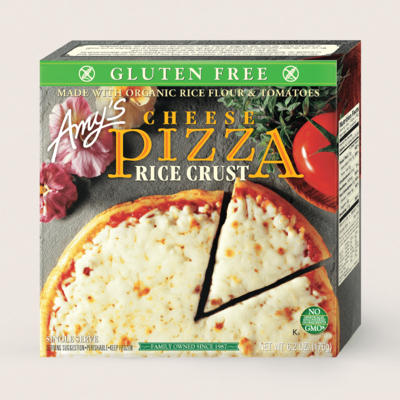 Cheese Pizza, Gluten Free, Single Serve