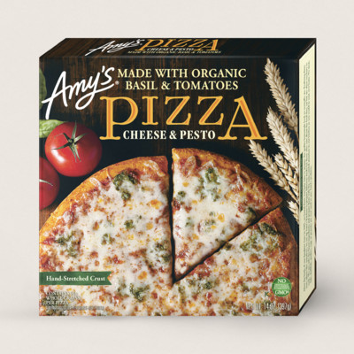Cheese & Pesto Pizza
