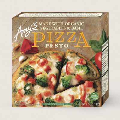 Pesto Pizza, Single Serve