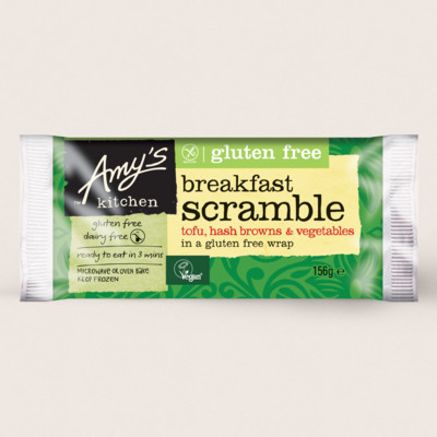 Breakfast Scramble Wrap