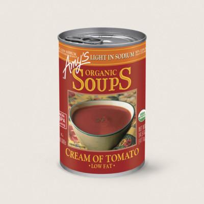 Organic Cream of Tomato Soup, Light in Sodium