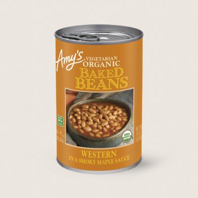 Organic Western Vegetarian Baked Beans