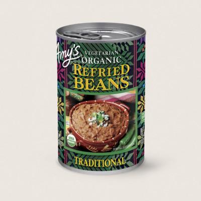 Organic Vegetarian Traditional Refried Beans