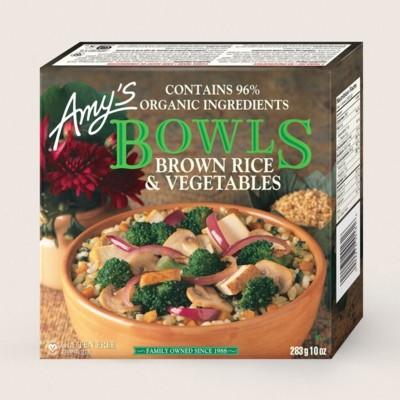 Brown Rice & Vegetables Bowl/Riz Brun Et Légumes Bol
