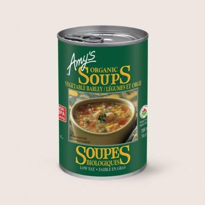 Organic Vegetable Barley Soup/LégumesEt Orge Biologique