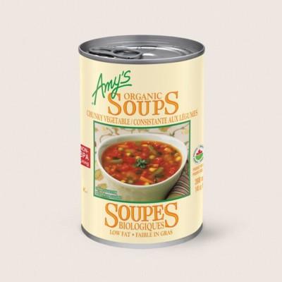 Organic Chunky Vegetable Soup/Consistante AuxLégumes Biologiques