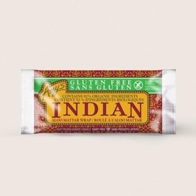 Gluten Free Indian Aloo Mattar Wrap/Sans Gluten Roulé À L'Aloo Mattar