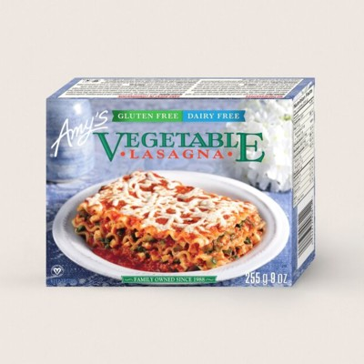 Gluten Free, Dairy Free Vegetable Lasagna/Sans Gluten, Sans Produits Laitiers Lasagne AuxLégumes