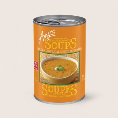 Golden Lentil Soup/Lentilles  Dorées