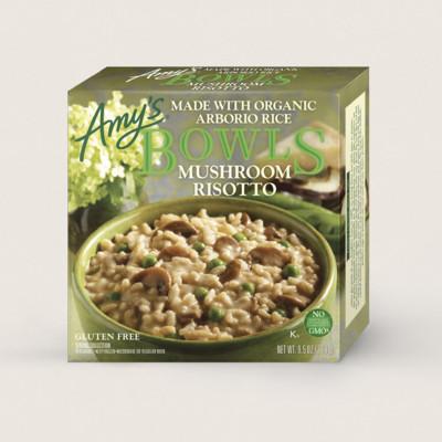 Mushroom Risotto Bowl
