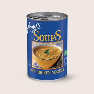 No Chicken Noodle Soup