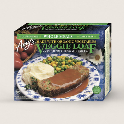 Veggie Loaf Meal, Gluten Free, Dairy Free