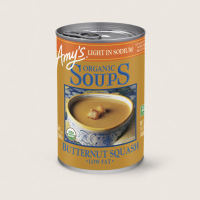 Organic Butternut Squash Soup, Light in Sodium