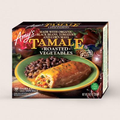 Roasted Vegetable Tamale