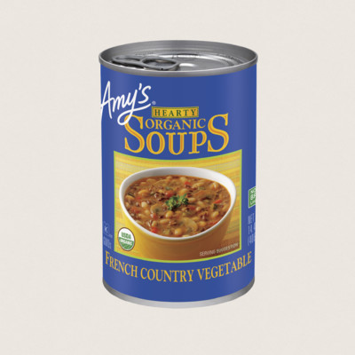 Organic Hearty French Country Vegetable Soup