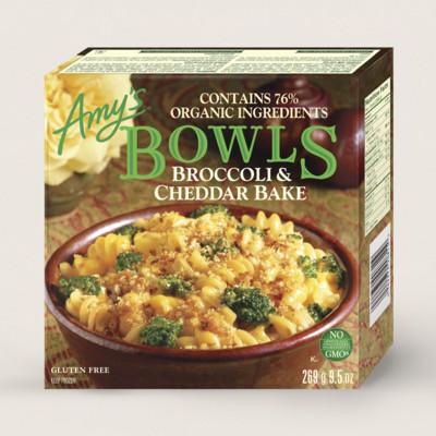 Broccoli & Cheddar Bake Bowl/Gratin Avec Brocoli Et Cheddar