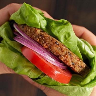 Sonoma Veggie Burger Wrap, and celery