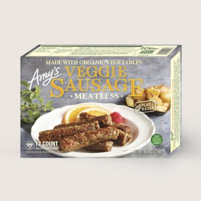Meatless Veggie Sausages