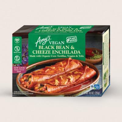 Vegan Black Bean & Cheeze Enchilada