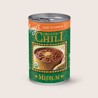 Organic Medium Chili, Light in Sodium