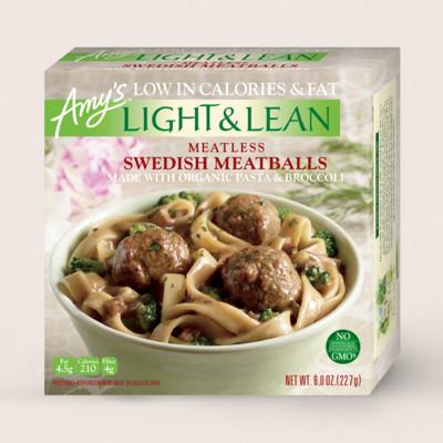 Meatless Swedish Meatballs - Light & Lean