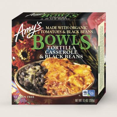 Tortilla Casserole & Black Beans Bowl