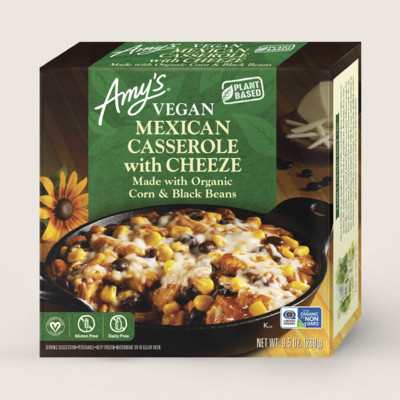 Vegan Mexican Casserole with Cheeze