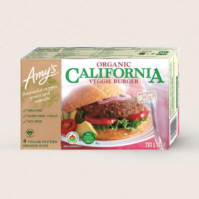 Organic California Veggie Burger/Végéburger California Biologique