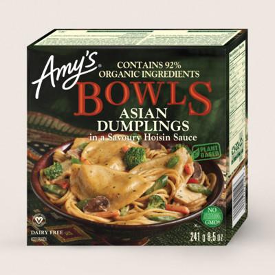Asian Dumpling Bowl/Boulettes Asiatiques