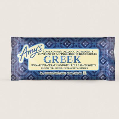 Greek Spanakopita Wrap/Sandwich roulé spanakopita