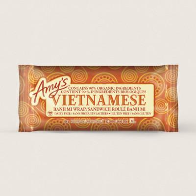 Vietnamese Banh Mi Wrap/Sandwich roulé banh mi
