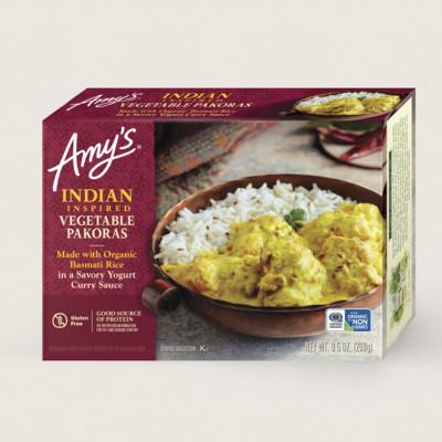 Indian Inspired Vegetable Pakoras