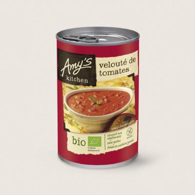 Soupe velouté de tomates bio