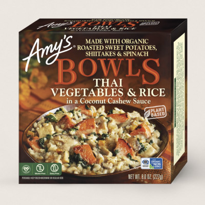 Thai Vegetables & Rice Bowl