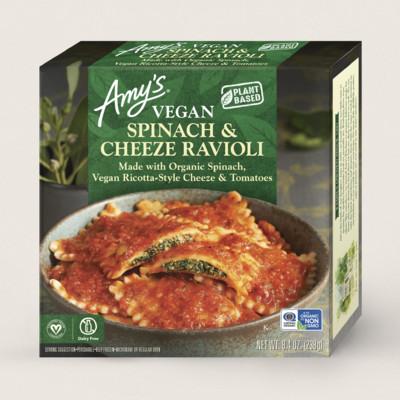 Vegan Spinach & Cheeze Ravioli