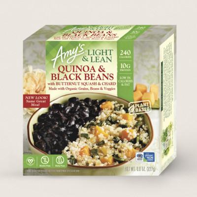 Quinoa & Black Beans with Butternut Squash & Chard - Light & Lean