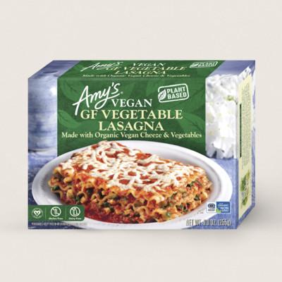 Vegan GF Vegetable Lasagna
