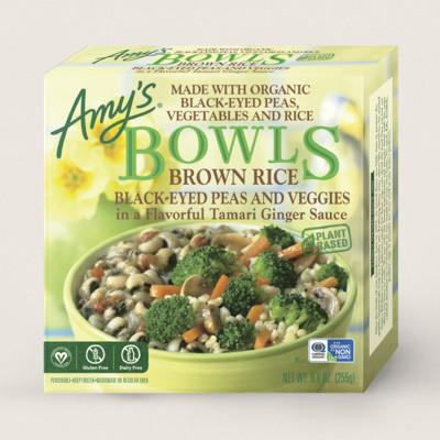 Brown Rice, Black-Eyed Peas & Veggies Bowl